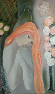 Ilyés Márta festménye